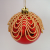 Beaded Bauble Kit- Loopy- in a choice of colours