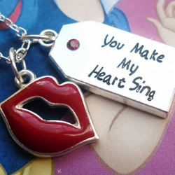 SALE You Make My Heart Sing Necklace