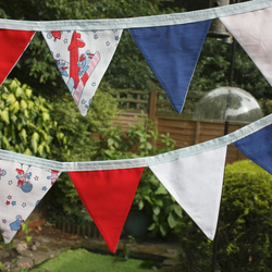 Beautiful boy's bedroom bunting
