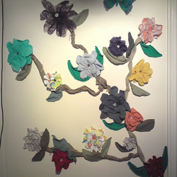 Flower Vines Wall Art