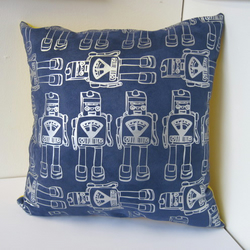 Funky Robot Cushion