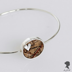 'Road to Her Heart', Map Bangle