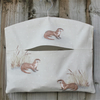 Otter Print Hanging Peg Bag
