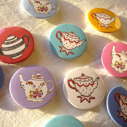 Teapot Badges