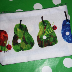 Very Hungry Caterpillar fabric coin purse