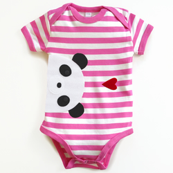 Baby Panda Bodysuit : Baby Girl, Baby Girl Shower