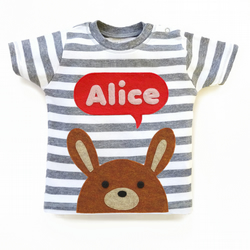 Baby Bunny Personalised T-Shirt : 3 months up to 24 months