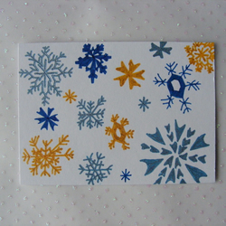Snowing ACEO
