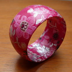 """Daydream in Pink"" bangle"