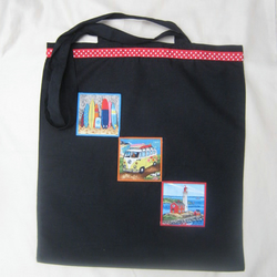 Tote bag, shopper - seaside