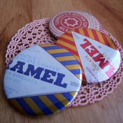 Tunnock's Pin Badges - Set of 3