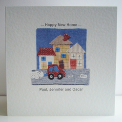New Home Card ( Personalised )