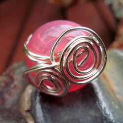 Freaky Deaky Wire Wrapped Ring