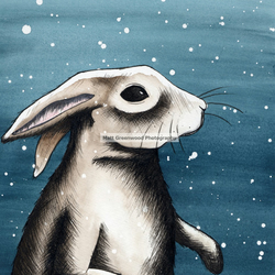 Original Rabbit Illustration (8x12) + more sizes!