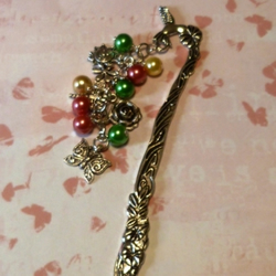 Pretty Spring Flowers Bookmark