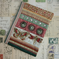 Embroidered travel wallet