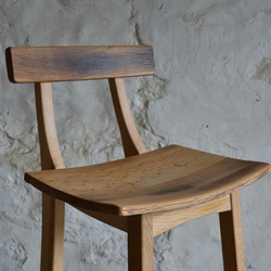 Scottish Oak Bar Stool