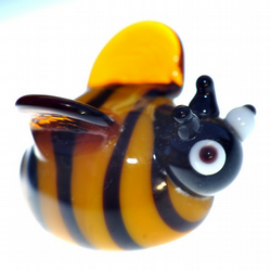 Glass Lampworked Bee
