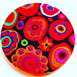 Kaffe Fassett Cotton Fabric Pocket Mirror