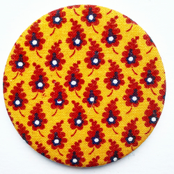 Laura Ashley Fabric Pocket Mirror