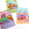 Pack of 3 A6 Postcard Prints 'Living the Dream' 'Travel in Style' ' Day Tripper'