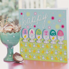 Happy Easter Card in Blue
