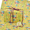 Gift Wrap 2 pack  - Bluebirds & Daisies