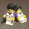 Lego Figure Cuff Links Disco Dancer Cufflinks for Lovers of Dance Everywhere
