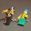 Lego Pirate Figure Cuff Links Captain and Mate Cufflinks – oo ar me hearty's for big boys everywhere