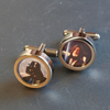 Darth Vader and Obi-Wan Star Wars Cufflinks Choose One Image or Both