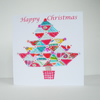 Patchwork Christmas Tree Card