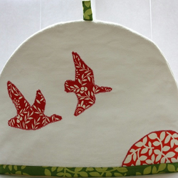 Geese at Sunset Tea Cosy