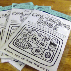 Colouring Book Zine Folksy