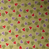 Red & Purple Hearts, Fabric Freedom; fat quarter