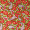 Red & Purple Paisley, Fabric Freedom; fat quarter