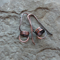 'Coiled' Ear Wire