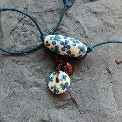 Floral Trapeze Necklace