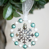 Christmas Tree Decoration with Snowflake 11