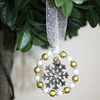 Christmas Tree Decoration with Snowflake 13