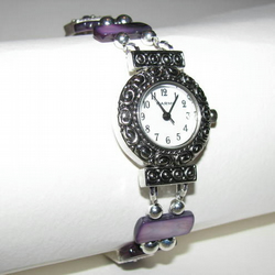 Purple Shell Watch