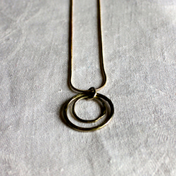 Duo Circle Necklace