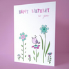 sweet bird birthday card