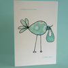 Colourful Baby Boy card
