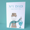 father's day fishing card