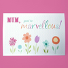 marvellous mum birthday card