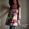 """Action!"" Wrapover Skirt"