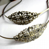 bronze plated vintage hairband