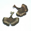 antique bronze gingko leaf