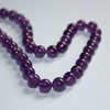 Amethyst beads 8mm - 5pcs