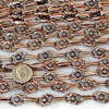 Antique Copper Fancy Chain 50cm